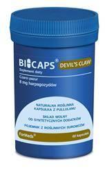 ForMeds BiCaps Devil's Claw (Czarci Pazur) Extract 200 mg 60 kapsułek