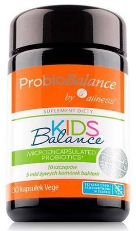 Aliness ProbioBalance Kids Balance 30 kapsułek vege