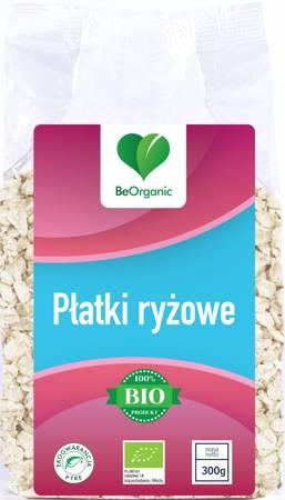 BeOrganic Płatki ryżowe EKO 300 g