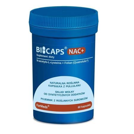 ForMeds BiCaps N-Acetylo Cysteina NAC+ 60 kapsułek