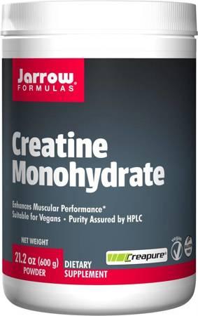 Jarrow Formulas Kreatyna (Creatine Monohydrate) Puder 600 g