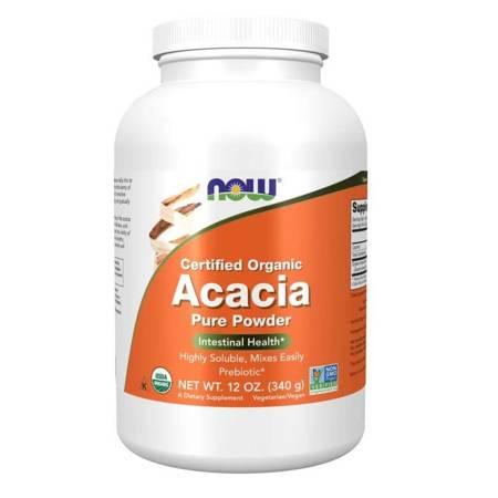 Now Foods Akacja (Acacia) Puder 340 g