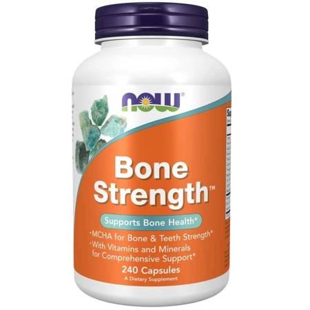 Now Foods Bone Strength 240 kapsułek