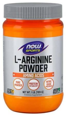 Now Foods L-Arginina Puder 454 g