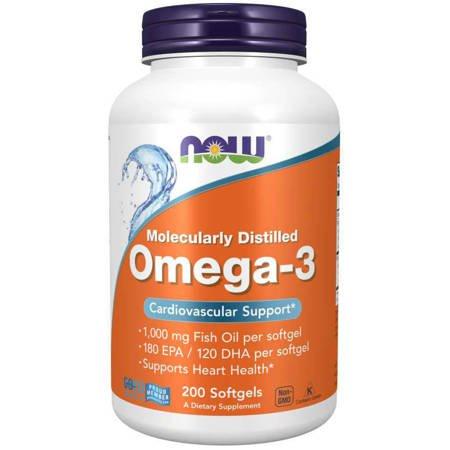 Now Foods Omega-3 200 kapsułek
