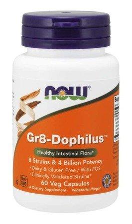 Now Foods Probiotyk Gr-8 Dophilus 60 kapsułek