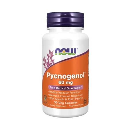 Now Foods Pycnogenol 60 mg 50 kapsułek