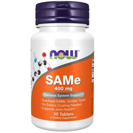 Now Foods SAMe 400 mg 30 tabletek