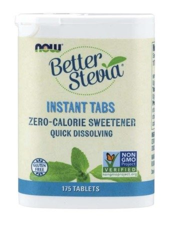 Now Foods Słodzik Better Stevia 175 tabletek