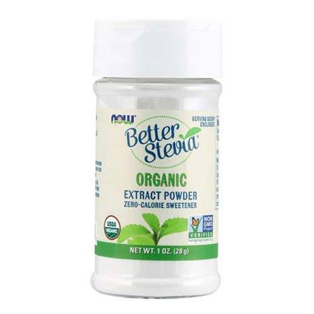 Now Foods Słodzik Better Stevia Puder 28 g