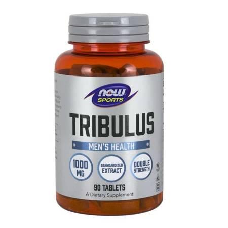 Now Foods Tribulus 1000 mg 90 tabletek