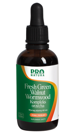 Pro Natura Fresh Green Walnutin 60 ml krople