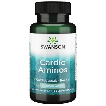 Swanson AjiPure Cardio Aminos 60 kapsułek