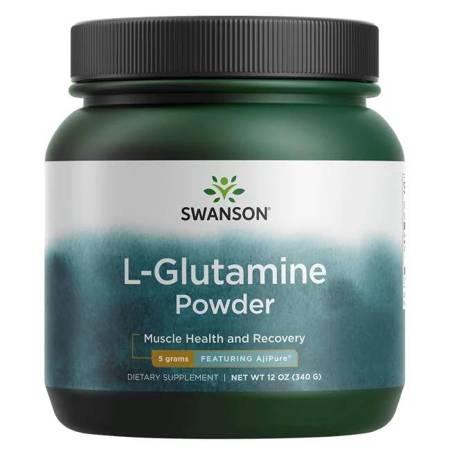 Swanson AjiPure L-Glutamina 340 g