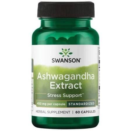 Swanson Ashwagandha Extract 450 mg 60 kapsułek