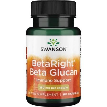 Swanson Beta Right Beta Glucan 250mg 60 kapsułek