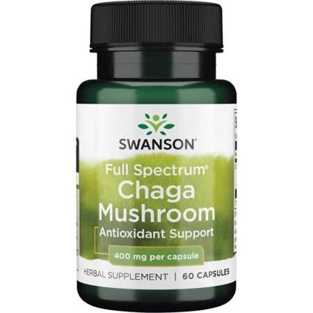 Swanson Chaga Mushroom 60 kapsułek