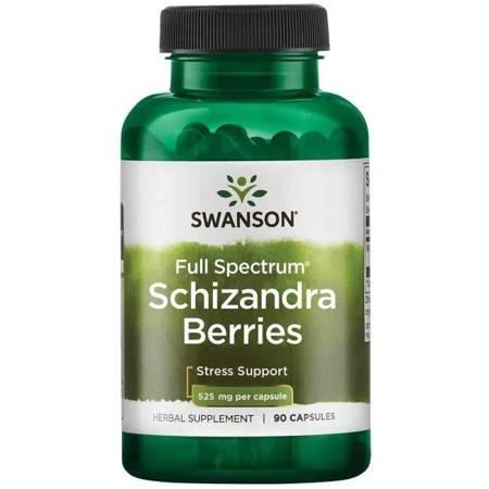 Swanson Cytryniec Chiński (Schizandra Berries) 525 mg 90 kapsułek