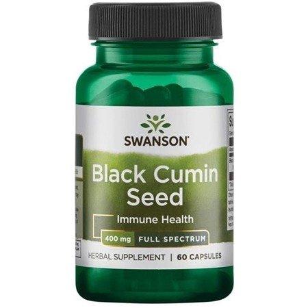 Swanson Czarny Kmin (Black Cumin) 400 mg 60 kapsułek
