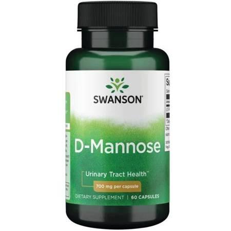 Swanson D-Mannoza 700 mg 60 kapsułek