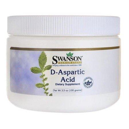 Swanson DAA (Kwas D-Asparaginowy) 100% Puder 100 g