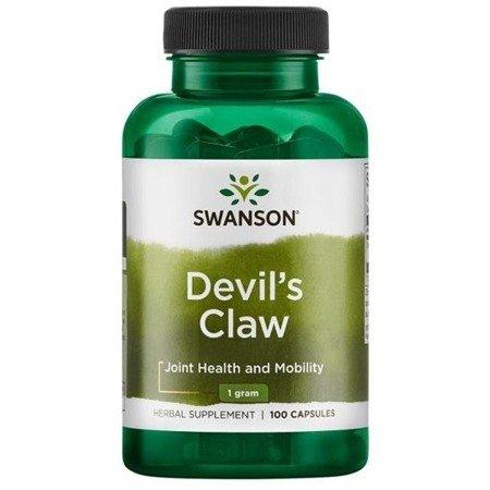 Swanson Devil's Claw (Czarci Pazur) 500 mg 100 kapsułek