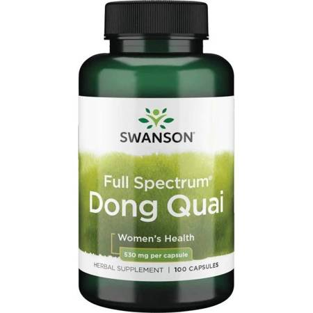 Swanson Dzięgiel Chiński (Dong Quai) 530 mg 100 kapsułek