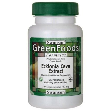 Swanson Ecklonia Cava Extract 53 mg 30 kapsułek