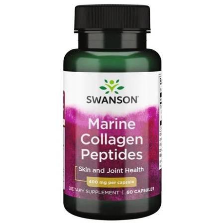 Swanson Hydrolizowany Kolagen Rybi Typu I 400 mg 60 kapsułek