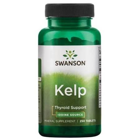 Swanson Kelp (Jod) 225 mcg 250 tabletek