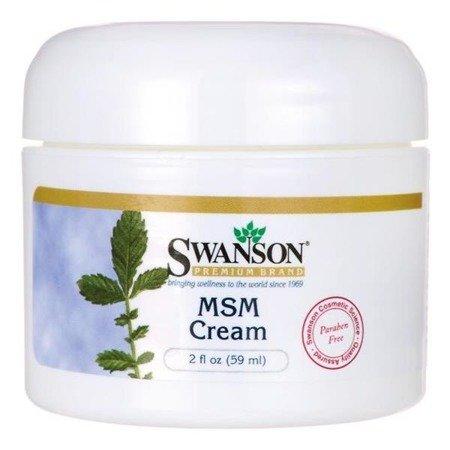 Swanson Krem z MSM 59 ml