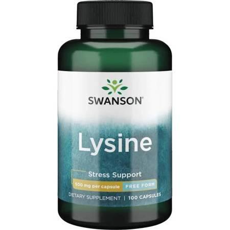 Swanson L-Lizyna 500 mg 100 kapsułek