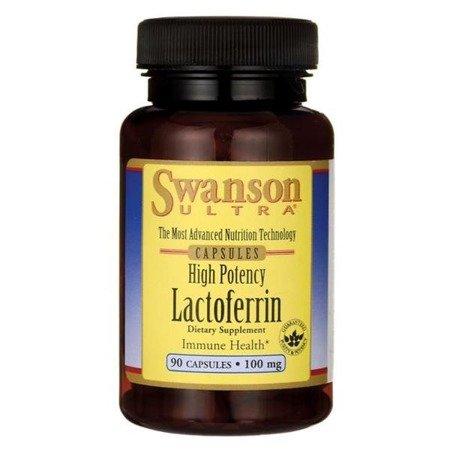 Swanson Laktoferyna 100 mg 90 kapsułek