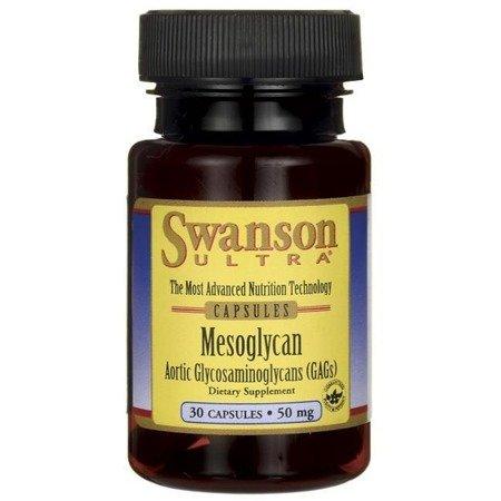 Swanson Mezoglikan 50 mg 30 kapsułek KRÓTKA DATA 30.06.2021