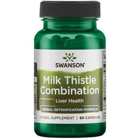 Swanson Milk Thistle Combination 60 kapsułek