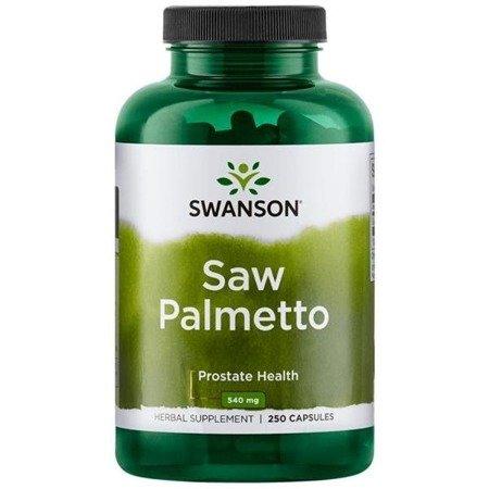 Swanson Palma Sabałowa (Saw Palmetto) 540 mg 250 kapsułek