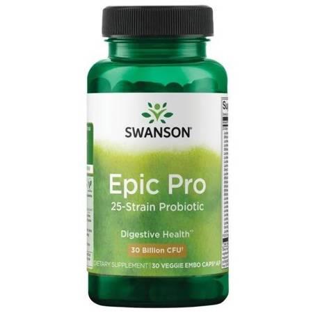 Swanson Probiotyk Epic Pro 25 szczepów 30 kapsułek