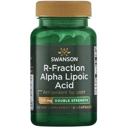 Swanson R-ALA Kwas R Alfa Liponowy (R-Fraction) 100 mg 60 kapsułek