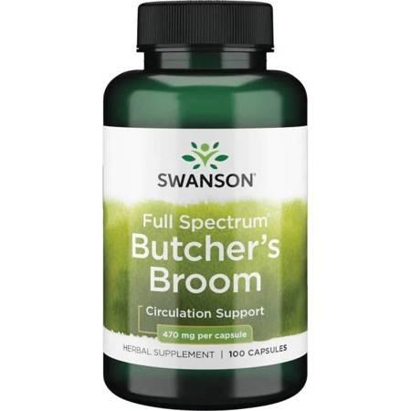 Swanson Ruszczyk (Butcher's Broom) 470 mg 100 kapsułek