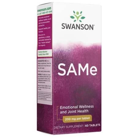 Swanson SAMe 200 mg 60 tabletek