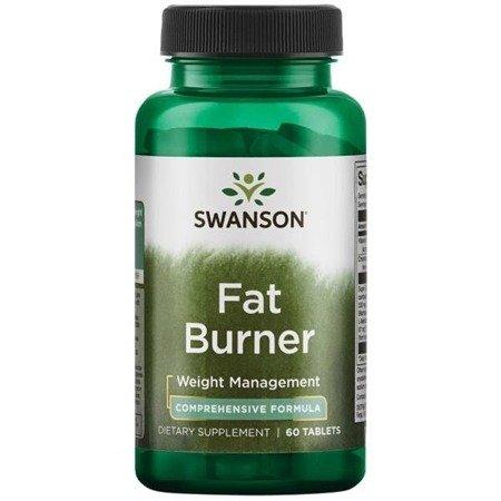 Swanson Spalacz Tłuszczu (Fat Burner) 60 tabletek