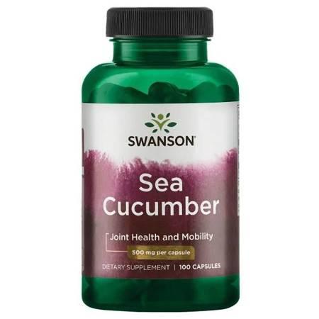Swanson Strzykwa (Sea Cucumber) 500 mg 100 kapsułek