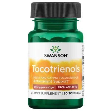 Swanson Tokotrienole DeltaGold z Annato 50 mg 60 kapsułek