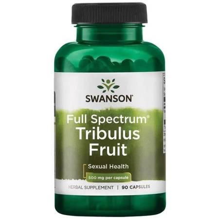 Swanson Tribulus Fruit 500 mg 90 kapsułek