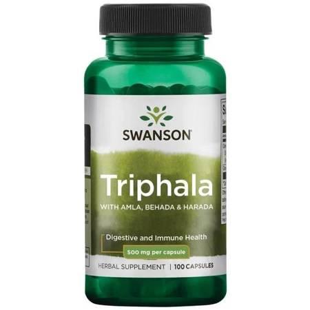 Swanson Triphala 500 mg 100 kapsułek
