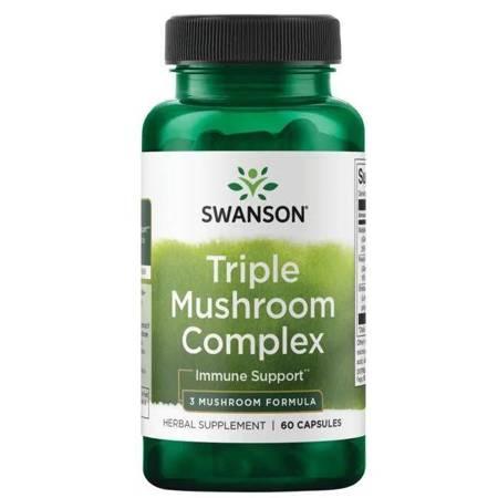 Swanson Triple Mushroom Complex Extract 60 kapsułek